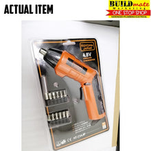 Load image into Gallery viewer, Hoyoma Cordless Screwdriver BLISTER 4.8V w/12Bits HT-CS4.8P