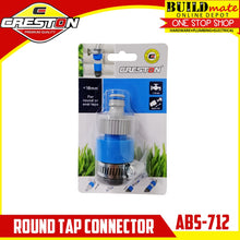 Load image into Gallery viewer, CRESTON Round Tap Connector for Garden Hose ABS-712