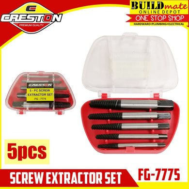 CRESTON Screw Extractor 5pcs/SET FG-7775 Easy Out
