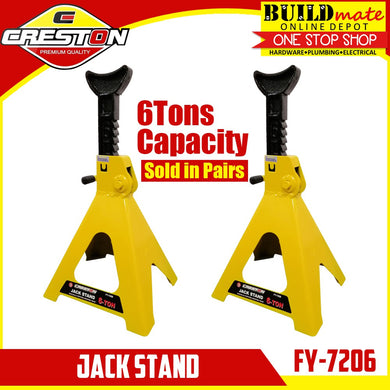 CRESTON Jack Stand 6 TONS Capacity STEEL BODY FY-7206