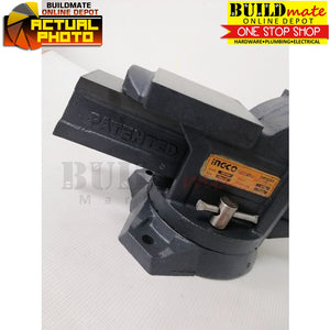 "INGCO Bench Vise 4"" with Anvil HBV084 •NEW ARRIVAL!•"