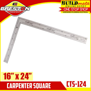 "CRESTON Carpenter Square 16""x24"" CTS-124"