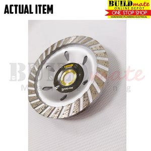 "Lotus Diamond Cup Grinding Wheel 4"" TRIM LDCW04R"