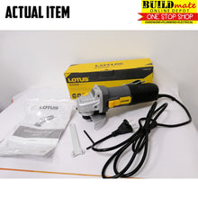 Load image into Gallery viewer, LOTUS 13RE COMBO Angle Grinder & Impact Drill +FREE RUBBER GLOVES