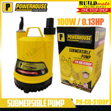 Load image into Gallery viewer, POWERHOUSE Submersible Pump 100W PH-CO-S100P •BUILDMATE•