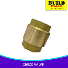 Load image into Gallery viewer, Maxten Brass Check Valve 1/2