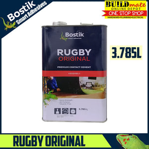 Bostik RUGBY Original/ EXCEL Premium Contact Cement 3.785L