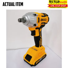 Load image into Gallery viewer, INGCO Cordless Impact Wrench BrushlessMotor 20V CIWLI2001 POWERSHARE +FREETAPEMEASURE
