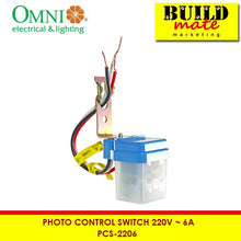 Load image into Gallery viewer, Omni Photo Control Switch 220V PCS-2206
