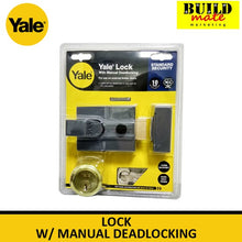 Load image into Gallery viewer, Yale Rim Lock  w/ Manual Deadlocking P-88-DMG-PB-60