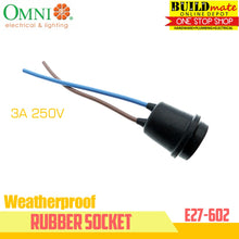 Load image into Gallery viewer, Omni Weatherproof Rubber Socket 3A 250V E27-602  Heavy Duty 100% ORIGINAL!