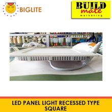 Load image into Gallery viewer, BIGLITE LED Panel Light Recessed Type