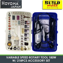 Load image into Gallery viewer, Hoyoma Rotary Tool 180W w/218pcs Accessory NEW ARRIVAL!