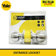 Load image into Gallery viewer, Yale Entrance Doorknob Lockset VCA5127 US32D