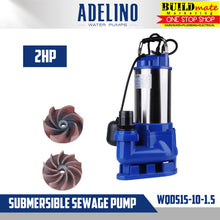 Load image into Gallery viewer, Adelino Submersible Sewage Pump 2HP WQDS15-10-1.5