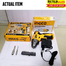 Load image into Gallery viewer, INGCO Cordless Screwdriver 3.6V CS1836