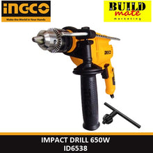 Load image into Gallery viewer, INGCO Impact Drill 650W ID6538