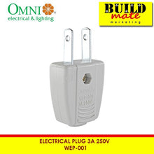Load image into Gallery viewer, Omni Electrical Plug 3A 250V WEP-001 (RANDOM COLOR ONLY)