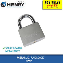 Load image into Gallery viewer, HENRY Metallic Padlock HMP