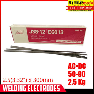 "2.5KG Golden Bridge Welding Rod E6013 3/32"" 2.5mm SOLDPERBOX"