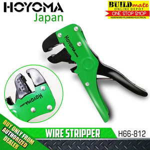 Hoyoma Automatic Wire Stripper H66-812 •BUILDMATE•