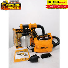 Load image into Gallery viewer, INGCO Floor Based Electric Spray Gun STAINLESS CAN 500W SPG5008-2 +FREE Tapemeasure