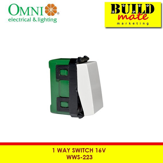 Omni 1-Way Switch 16A WWS-213