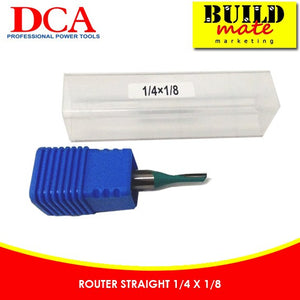 DCA Router Straight 1/4 x 1/8