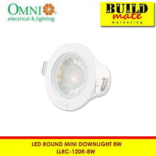 Load image into Gallery viewer, Omni 120° Round Mini Downlight LLRC-120R-8W