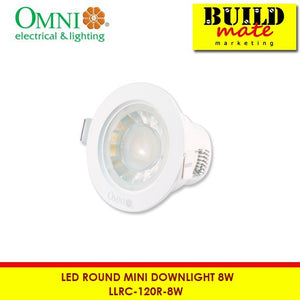 Omni 120° Round Mini Downlight LLRC-120R-8W