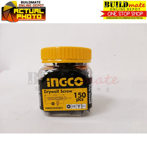 INGCO PHILLIP Gypsum Drywall Black Screw in a JAR ST3.5X38mm HWDS3503821 •NEW ARRIVAL!•
