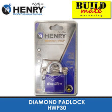 Load image into Gallery viewer, HENRY Diamond Padlock HWP30