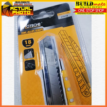 Load image into Gallery viewer, Hoteche Zinc Alloy Utility Knife 18mm 310418 •BUILDMATE•