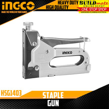 Load image into Gallery viewer, INGCO Staple Gun Tacker Upholstery HSG1403 •BUILDMATE•