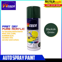 Load image into Gallery viewer, WEBER Auto Spray Paint SP-61 BLACKISH GREEN