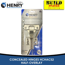 Load image into Gallery viewer, HENRY Concealed Hinges HCHACS2 HALF-OVERLAY