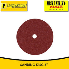 "Load image into Gallery viewer, POWERHOUSE Sanding Disc 4"" #60 / #80"