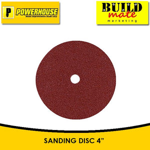 "POWERHOUSE Sanding Disc 4"" #60 / #80"