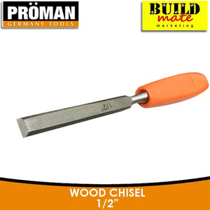 "Proman Wood Chisel 1/2"" •BUILDMATE•"