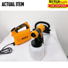 Load image into Gallery viewer, INGCO Floor Based Spray Gun Electric 500w SPG5008 Total Power Paint Zoom +FREETAPEMEASURE