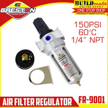 Load image into Gallery viewer, CRESTON Air Filter  / Regulator 150PSI FR-9001