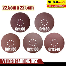 Load image into Gallery viewer, Velcro Polisher Sanding Disc Ø22.5CM GRIT60/80/150/180/240