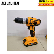 Load image into Gallery viewer, INGCO Cordless Impact Drill 20V CIDLI2002 POWERSHARE +FREETAPEMEASURE