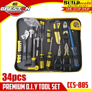 CRESTON Premium DIY Tool 34pcs/SET CCS-885