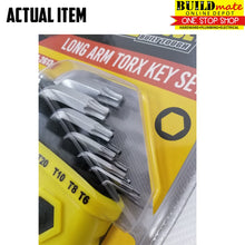 Load image into Gallery viewer, Powerhouse Long Arm Torx Key 13PCS/SET PH-2613