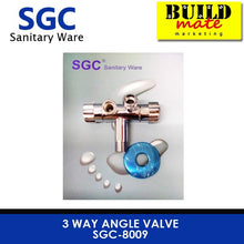 Load image into Gallery viewer, SGC 3 Way Angle Valve SGC-8009
