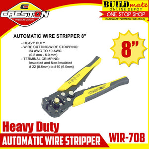 CRESTON Heavy Duty Automatic Wire Stripper WIR-708