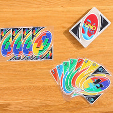 Load image into Gallery viewer, UNO Cards H20 Waterproof Clear Cards