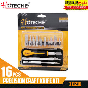 Hoteche Precision Craft Knife Kit 16PCS/SET 311216