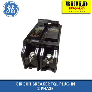 GE Plug In Circuit Breaker TQL Plug In 2 Phase